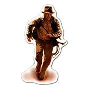 Прозрачная наклейка Indiana Jones