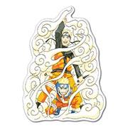 Купить прозрачные наклейки Naruto