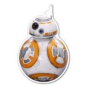 Прозрачная наклейка Star Wars