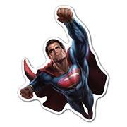 Прозрачная наклейка Superman