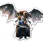 Купить прозрачные наклейки Witcher