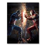 Гибкий магнит (маленький) Captain America