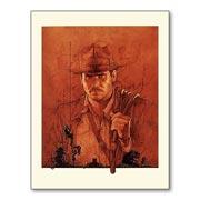 Гибкий магнит (маленький) Indiana Jones