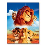 Гибкий магнит (маленький) Lion King