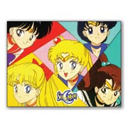 Гибкий магнит (маленький) Sailor Moon