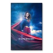 Гибкий магнит (маленький) Supergirl