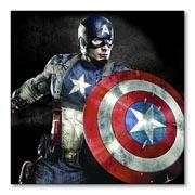 Гибкий магнит (большой) Captain America