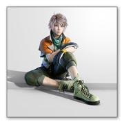 Гибкий магнит (большой) Final Fantasy