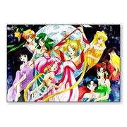 Купить гибкие магниты (большие) Sailor Moon