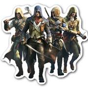 Купить фигурные магниты Assassin's Creed
