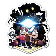 Фигурный магнит Gravity Falls