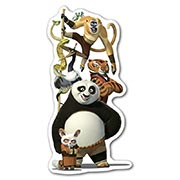 Фигурный магнит Kung Fu Panda