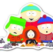 Фигурный магнит South Park