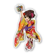 Купить фигурные магниты Melancholy of Haruhi Suzumiya