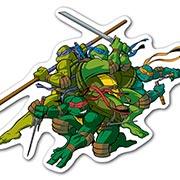 Купить фигурные магниты Ninja Turtles