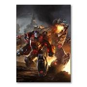 Магнитная картина Transformers