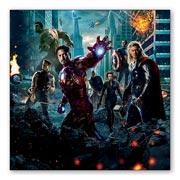 Магнитная картина Avengers
