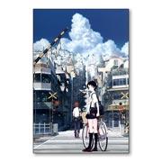 Магнитная картина Toki o Kakeru Shoujo. Размер панно: 20 х 30 см