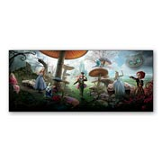 Купить магнитные картины Alice in Wonderland