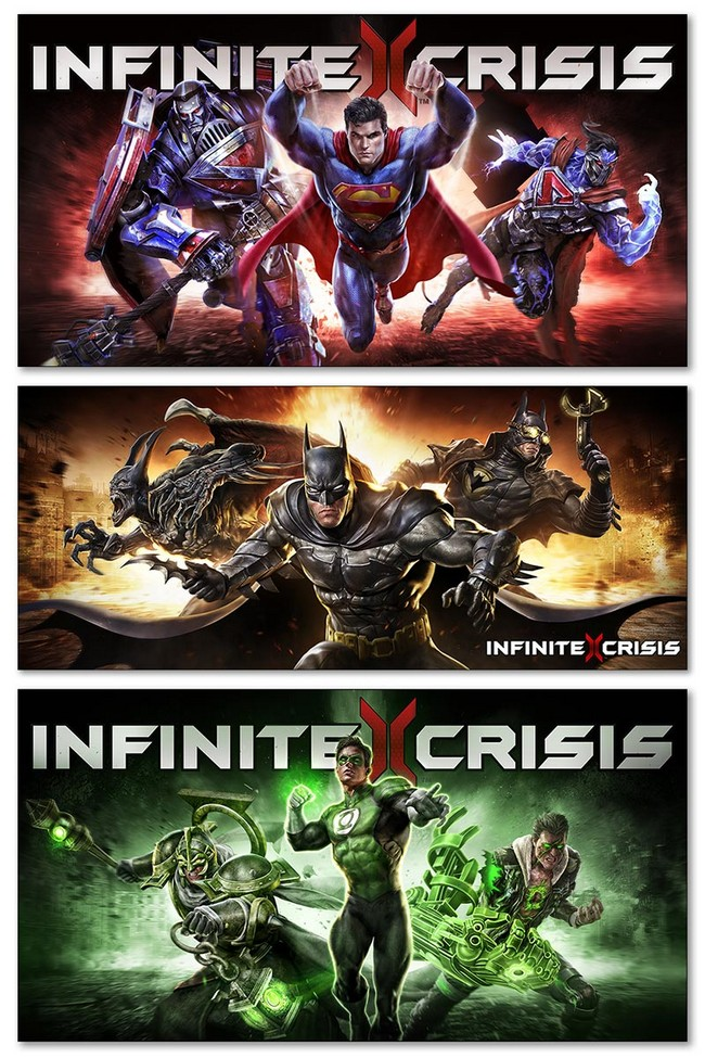 Модульные магниты Infinite Crisis