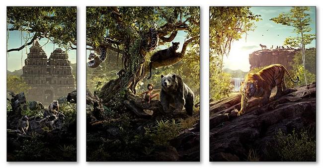 Модульные магниты Jungle Book