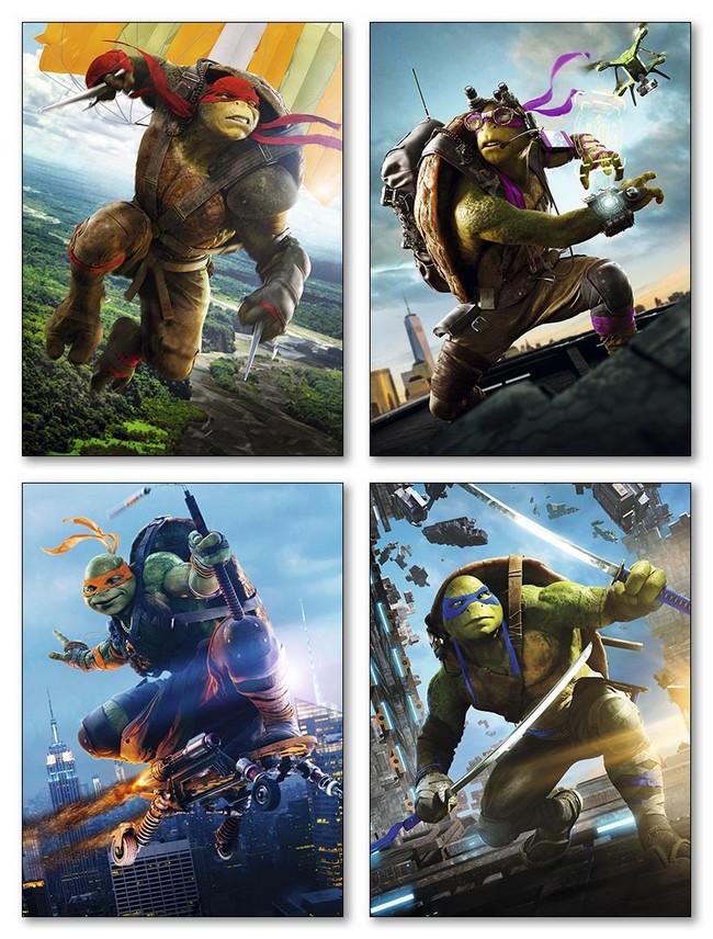 Купить модульные магниты Ninja Turtles
