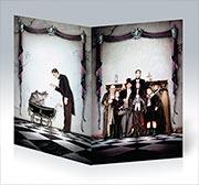 Купить поздравительные открытки Addams Family