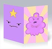 Купить поздравительные открытки Adventure Time
