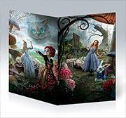 Купить поздравительные открытки Alice in Wonderland