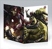 Поздравительная открытка Avengers