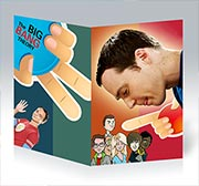 Поздравительная открытка Big Bang Theory