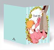 Поздравительная открытка Bleach