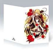 Поздравительная открытка Crimson Shell