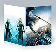 Поздравительная открытка Final Fantasy
