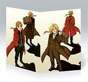Купить поздравительные открытки Fullmetal Alchemist