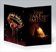 Купить поздравительные открытки Game of Thrones