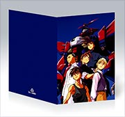 Поздравительная открытка Gundam