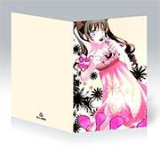 Поздравительная открытка Hatenkou Yuugi