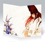 Поздравительная открытка Hikaru no Go