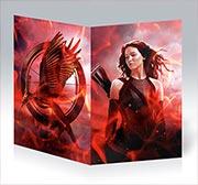 Купить поздравительные открытки Hunger Games