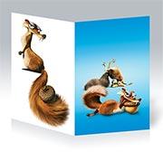 Купить поздравительные открытки Ice Age