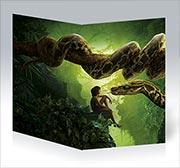 Поздравительная открытка Jungle Book