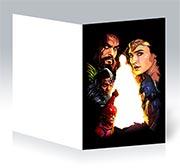 Купить поздравительные открытки Justice League