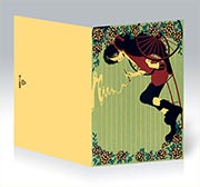 Купить поздравительные открытки Keiyaku no Kuroneko