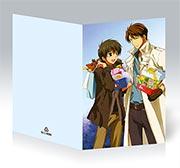 Купить поздравительные открытки Kyo Kara Maoh!