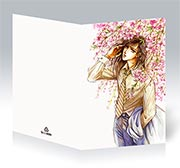 Купить поздравительные открытки Mamiya Oki Art