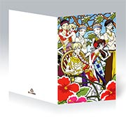 Поздравительная открытка Ouran High School Host Club