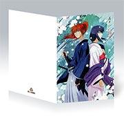 Купить поздравительные открытки Rurouni Kenshin