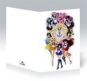 Поздравительная открытка Sailor Moon