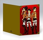 Купить поздравительные открытки Shingeki no Kyojin